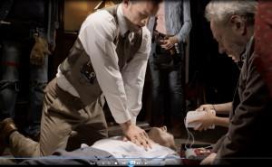Film produit par le CESU78, le CHV et STUFF MOVIE, avec le soutien de la Direction Générale de la Santé et du Centre d'Expertise de la Mort Subite de l'Adulte