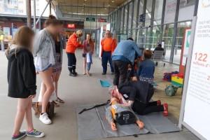 Plus de 200 personnes ont été sensibilisées en gare de St Malo