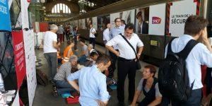 GHW et le Train de la Sécurité